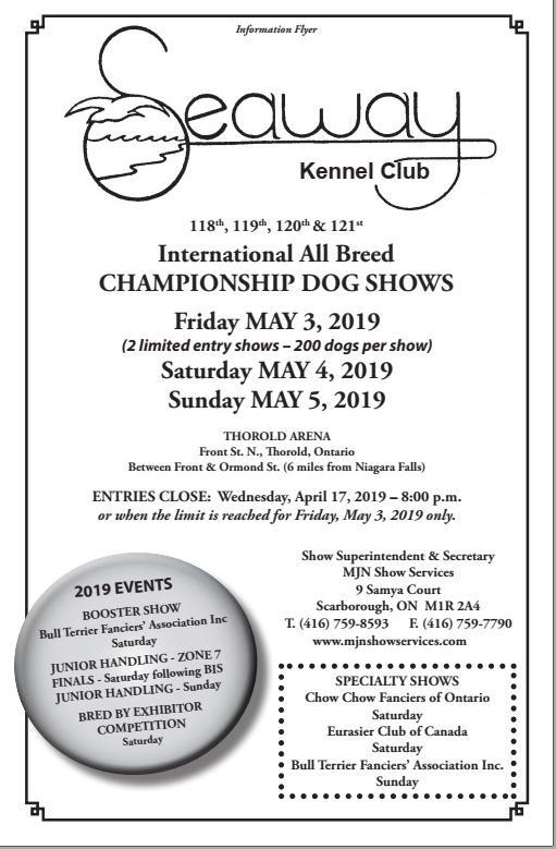 Seaway kennel Club